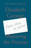 Cover image for MASTERING THE PROCESS : from idea to novel