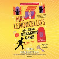 Cover image for Mr. Lemoncello's all-star breakout game Mr. Lemoncello's Library Series, Book 4.