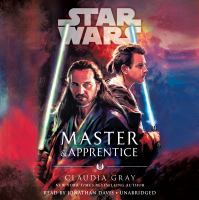 Cover image for Master & apprentice [sound recording CD] : Star Wars