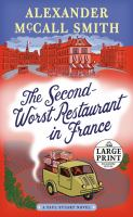 Cover image for The second-worst restaurant in France. bk. 2 Paul Stuart series