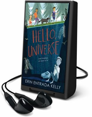 Cover image for Hello, universe [Playaway]