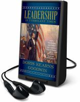 Cover image for Leadership in turbulent times [Playaway]