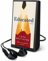 Cover image for Educated : a memoir [Playaway]