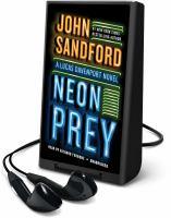Cover image for Neon prey. bk. 29 [Playaway] : Lucas Davenport series