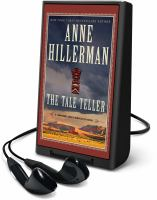 Cover image for The tale teller. bk. 5 [Playaway] : Leaphorn, Chee & Manuelito series