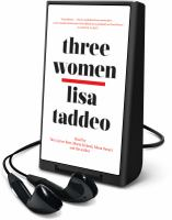 Cover image for Three women [Playaway]