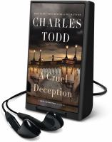 Cover image for A cruel deception. bk. 11 [Playaway] : Bess Crawford mystery series