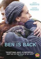 Imagen de portada para Ben is back [videorecording DVD]