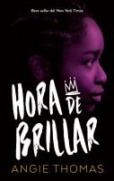 Cover image for Hora de brillar