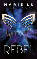 Cover image for Rebel. libro cuatro : Leyenda serie
