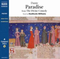 Cover image for Paradise from the Divine Comedy