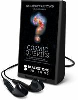 Cover image for COSMIC QUERIES [Playaway]