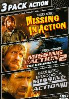 Imagen de portada para Missing in action [videorecording DVD] : Missing in action 2, the beginning, and Braddock, missing in action III.