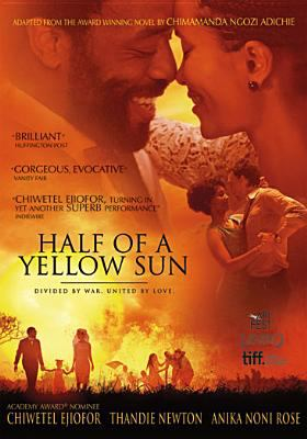 Cover image for Half of a yellow sun [videorecording DVD]