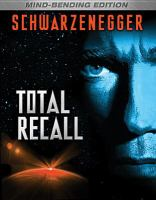 Cover image for Total recall [videorecording Blu-ray] (Arnold Schwarzenegger version)