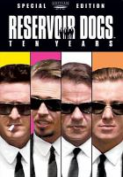 Cover image for Reservoir dogs [videorecording DVD]