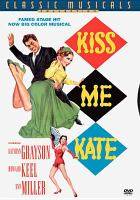 Cover image for Kiss me Kate