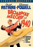 Cover image for Broadway melody of 1940