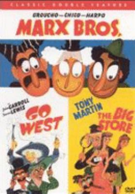 Cover image for Go West [videorecording DVD] ; The big store