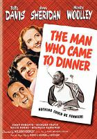 Cover image for The man who came to dinner