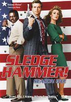 Cover image for Sledge Hammer. Season 1, Complete [videorecording DVD]