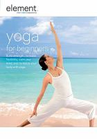Cover image for Yoga for beginners [videorecording DVD]