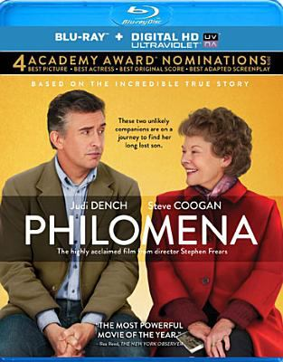 Cover image for Philomena [videorecording Blu-ray]