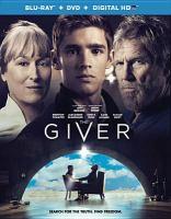Cover image for The giver [videorecording Blu-ray]