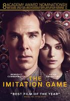 Cover image for The imitation game [videorecording DVD]