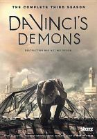 Cover image for Da Vinci's demons. Season 3, Complete [videorecording DVD]