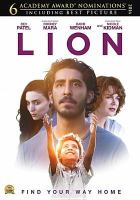 Cover image for Lion [videorecording DVD] : a long way home