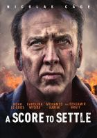 Cover image for A score to settle [videorecording DVD]