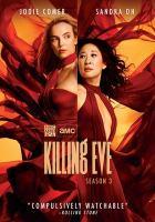 Cover image for Killing Eve. Season 3, Complete [videorecording DVD]