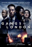 Cover image for Gangs of London. Season 1, Complete [videorecording DVD]