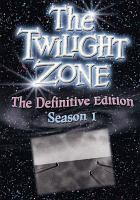 Cover image for The twilight zone. Season 1