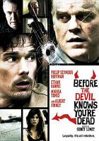 Cover image for Before the devil knows you're dead