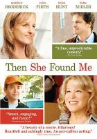 Cover image for Then she found me