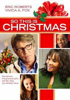 Cover image for So this is Christmas