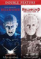 Cover image for Hellraiser [videorecording DVD] ; Hellbound : Hellraiser II.