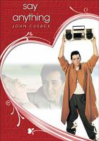 Cover image for Say anything