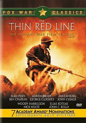 Cover image for The thin red line