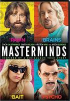 Cover image for Masterminds [videorecording DVD]