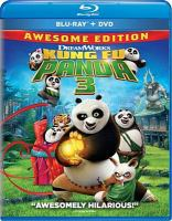 Cover image for Kung Fu Panda 3 [videorecording Blu-ray]