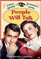 Cover image for People will talk [videorecording DVD]