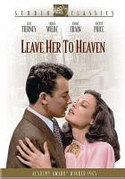 Cover image for Leave her to heaven
