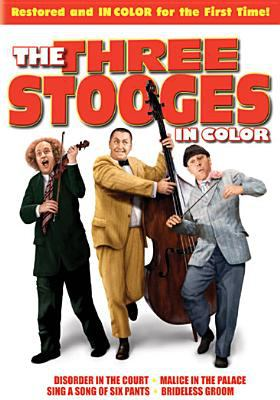 Cover image for The Three Stooges in color