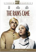 Cover image for The rains came