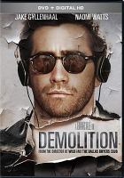 Cover image for Demolition [videorecording DVD]
