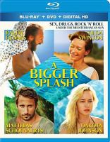 Cover image for A bigger splash [videorecording DVD]