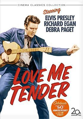 Cover image for Love me tender